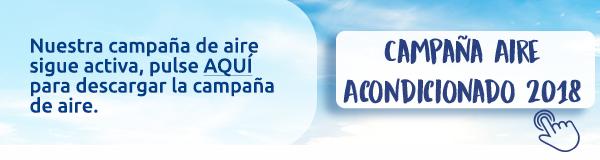 Campaña aire acondicionado 2018 en Dimasa